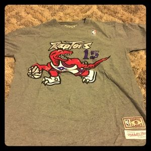 Mitchel and Ness Vince Carter Raptors shirt